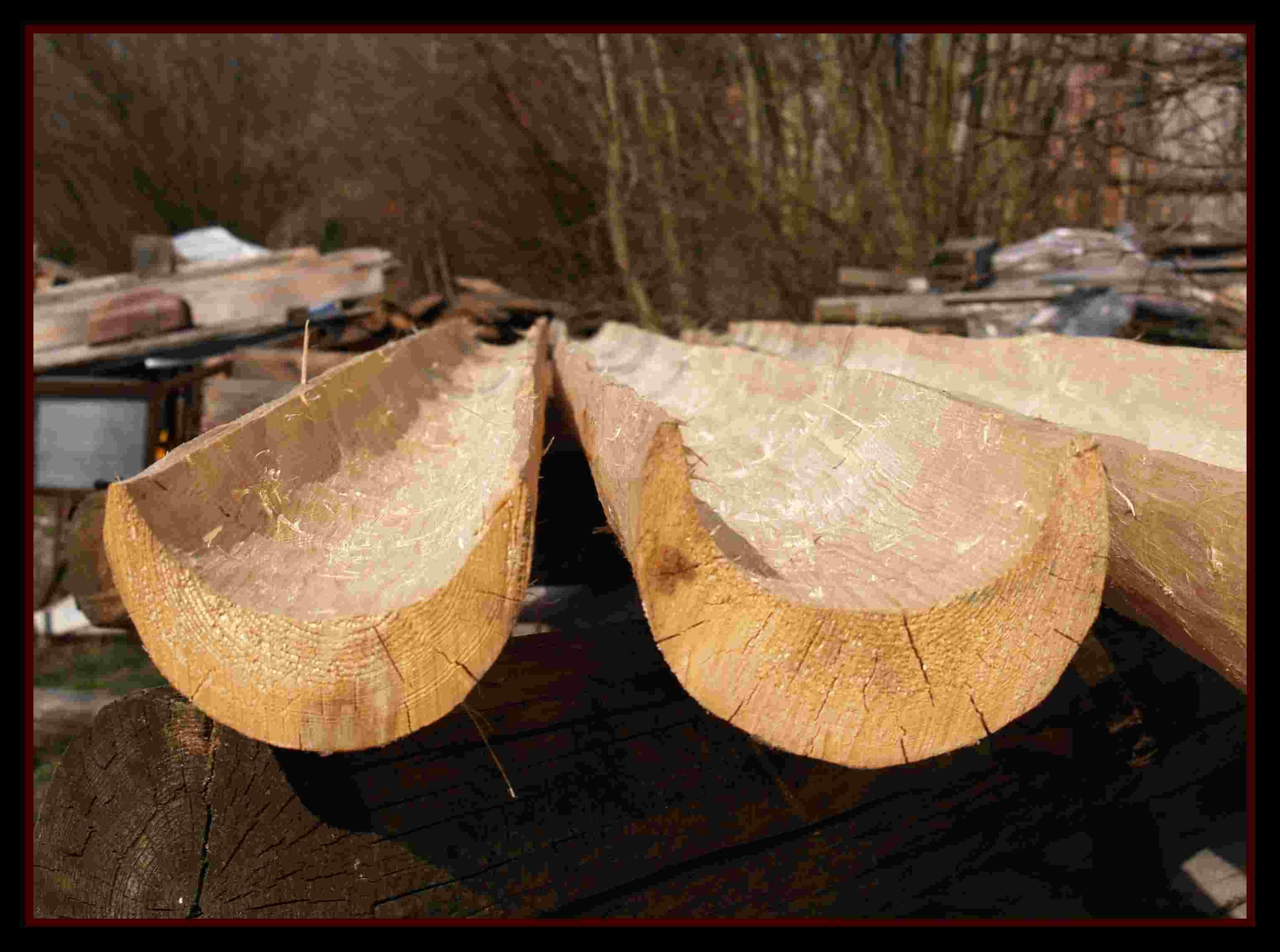 Fotogalerie- dřevěný žlaby drdlik