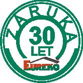 Záruka na krytinu Eureko 30 LET