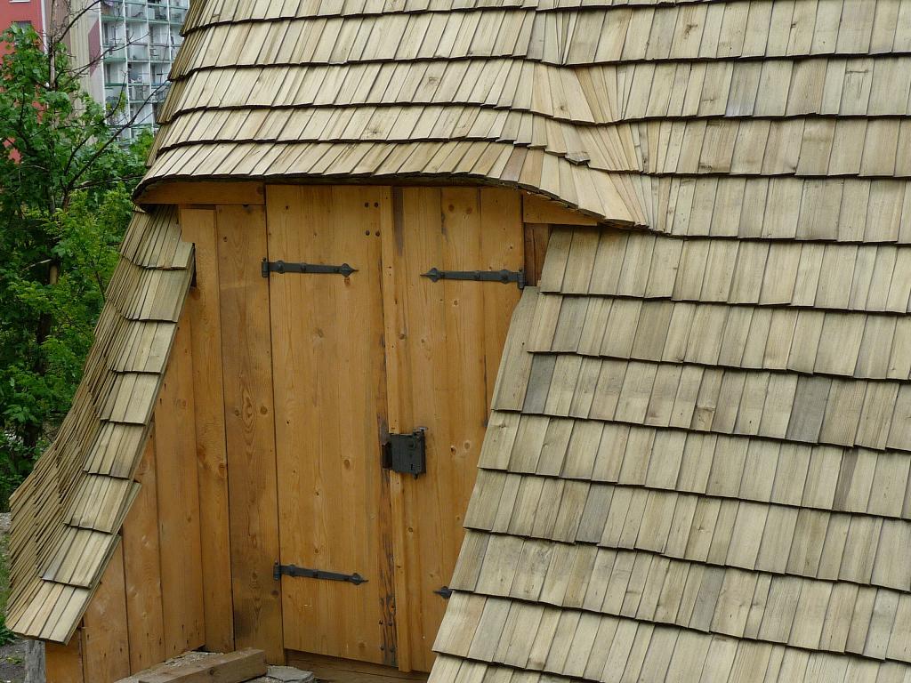 dřevěný šindel- zvonička drdlik