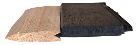 Dřevěný šindel nebo plastový šindel eureko drdlík