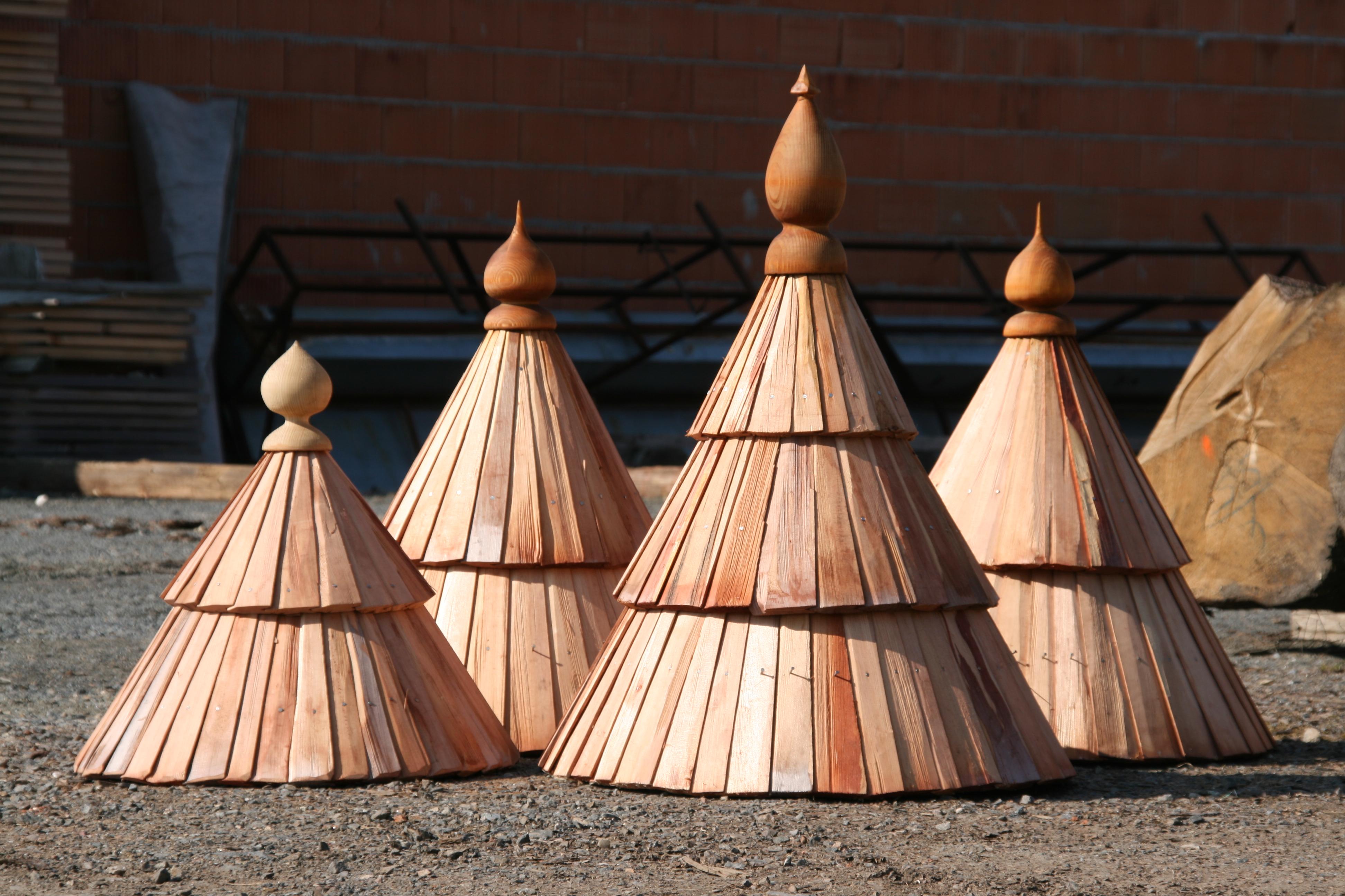 dřevěný štříšky ze šindelu drdlik