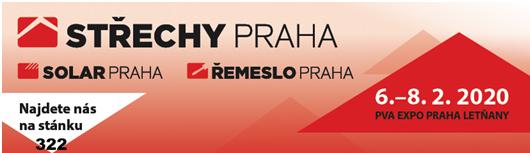 Pozvánka na veletrh Střechy Praha