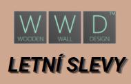UKONČENO - Letní výprodej vybraných modelů dřevěných obkladů na stěnu