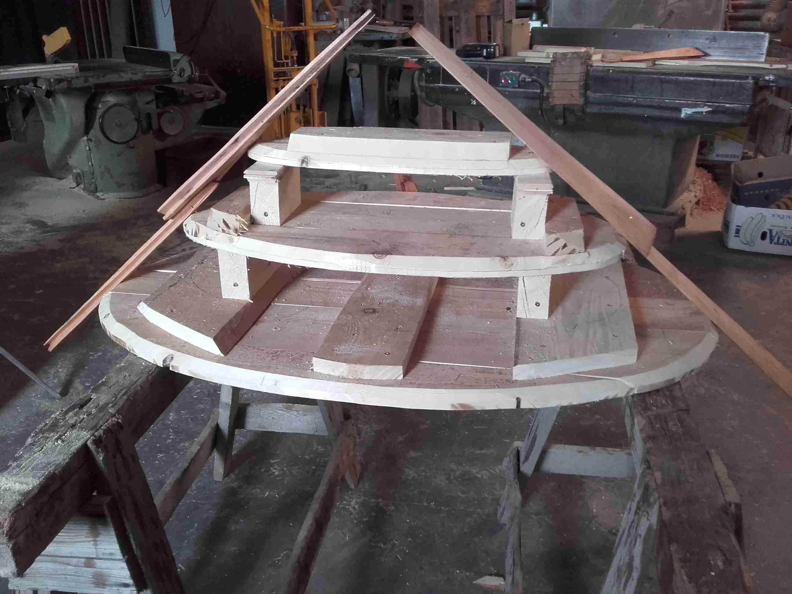Dřevěná šindelová stříška drdlík