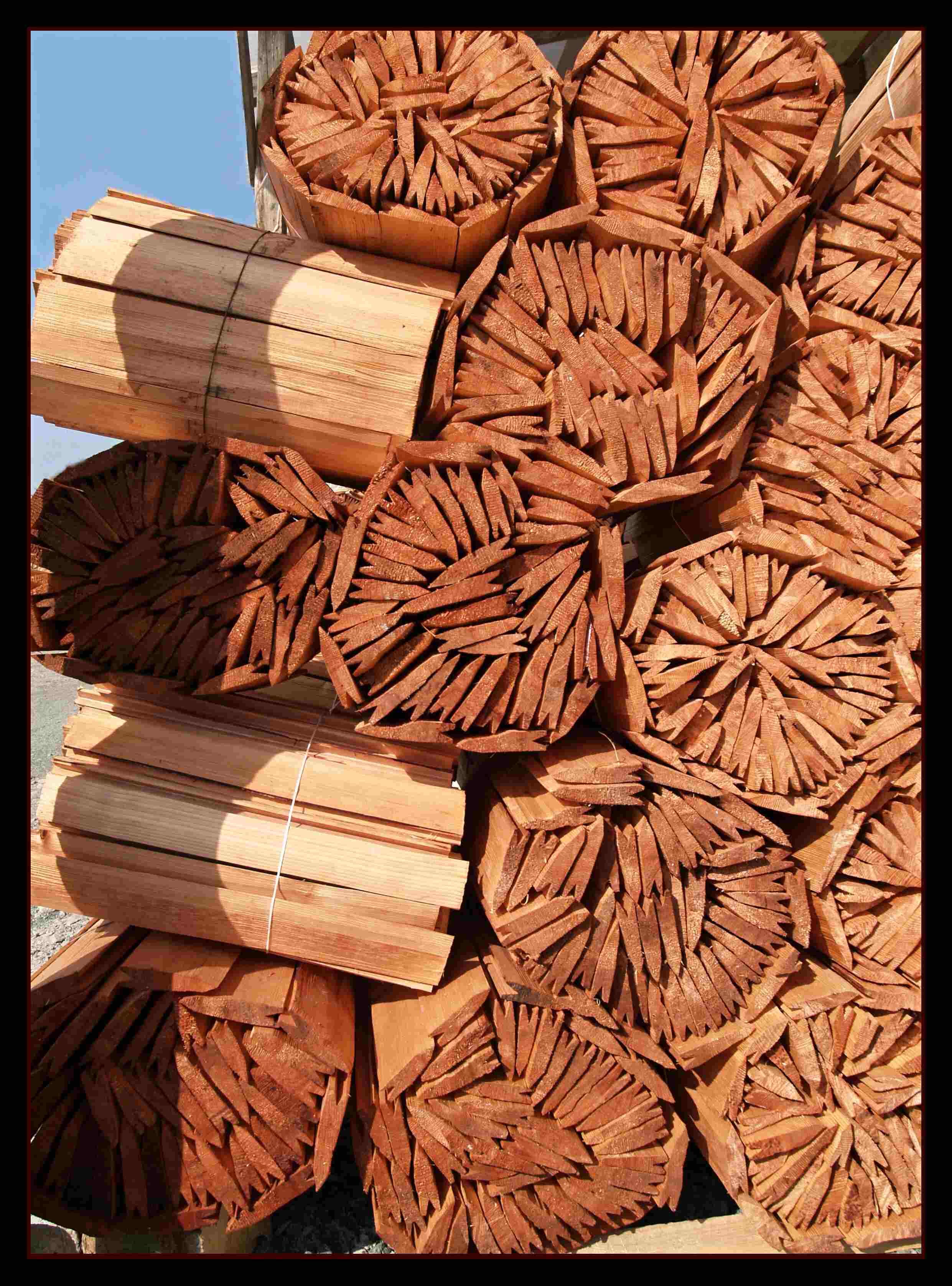 Dřevěný šindel, drdlík