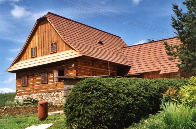 Fotogalerie dřevěný šindel drdlík