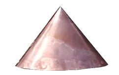 Drdlik - copper tip on a shingle roof